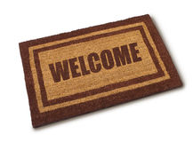 Welcome Mat Stock Images