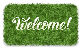 Welcome mat Stock Image