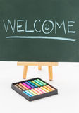 Welcome Message Royalty Free Stock Photo