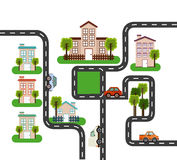 Welcome neighborhood. Design, vector illustration eps10 graphic Stock Images