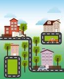 Welcome neighborhood. Design, vector illustration eps10 graphic royalty free illustration