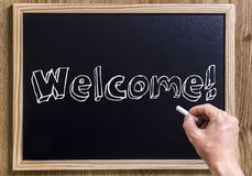 Welcome! Royalty Free Stock Photo