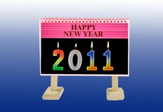 Welcome new year Stock Photos