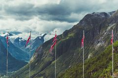 Welcome in the Norway Royalty Free Stock Images