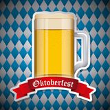 Welcome oktoberfest Stock Images
