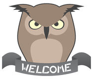 Welcome owl Stock Photos