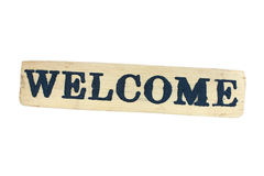 Free Welcome Panel Royalty Free Stock Photography - 17708717