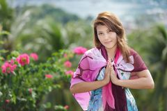 Welcome in paradise Stock Images