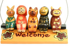 Welcome Puppet Stock Images