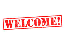 WELCOME! Stock Image