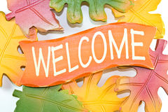 Welcome sign. Royalty Free Stock Photos