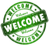 Welcome sign Stock Photos