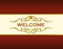 Welcome_sign Royalty Free Stock Photos