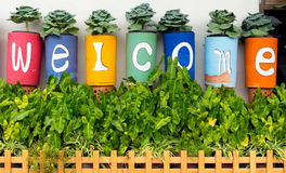 Free Welcome Sign Royalty Free Stock Photo - 35993765