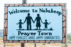 Welcome sign board in Nababeep Royalty Free Stock Photos