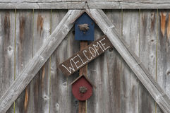Welcome Sign Royalty Free Stock Images