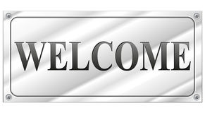 Welcome signboard Royalty Free Stock Photo
