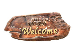 Welcome signs Stock Photography