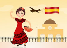 Welcome in Spain Stock Photo