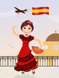 Welcome in Spain Stock Images