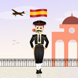 Welcome in Spain Royalty Free Stock Image
