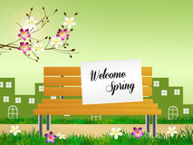 Welcome spring Stock Photo