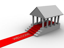 Welcome success Stock Image