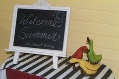 Welcome Summer Stock Photography