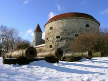 Welcome in Tallinn Royalty Free Stock Image