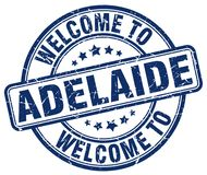 Welcome to Adelaide stamp. Welcome to Adelaide round grunge stamp isolated on white background. Adelaide. welcome to Adelaide