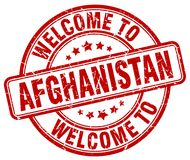 Welcome to Afghanistan stamp. Welcome to Afghanistan round grunge stamp isolated on white background. Afghanistan. welcome to Afghanistan