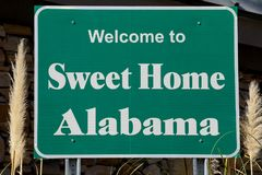 Welcome to Alabama Royalty Free Stock Images