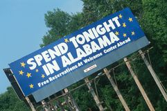 Welcome to Alabama Sign Stock Images