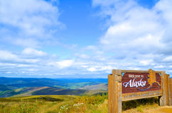 Welcome to Alaska Royalty Free Stock Images
