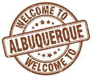 Welcome to Albuquerque stamp. Welcome to Albuquerque round grunge stamp isolated on white background. Albuquerque. welcome to Albuquerque