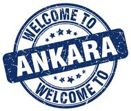 Welcome to Ankara stamp. Welcome to Ankara round grunge stamp isolated on white background. Ankara. welcome to Ankara