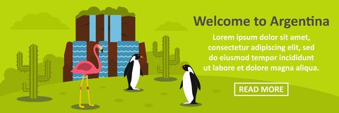 Free Welcome To Argentina Banner Horizontal Concept Royalty Free Stock Photography - 98452397
