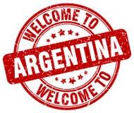 Welcome to Argentina stamp. Welcome to Argentina round grunge stamp isolated on white background. Argentina. welcome to Argentina