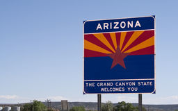 Welcome to Arizona Royalty Free Stock Photos