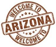 Welcome to Arizona stamp. Welcome to Arizona round grunge stamp isolated on white background. Arizona. welcome to Arizona