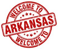 Welcome to Arkansas stamp. Welcome to Arkansas round grunge stamp isolated on white background. Arkansas. welcome to Arkansas