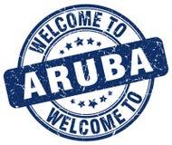 Welcome to Aruba stamp. Welcome to Aruba round grunge stamp isolated on white background. Aruba. welcome to Aruba