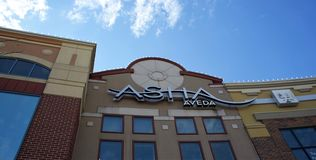 Asha Salon and Spa, Schaumburg, Illinois stock image