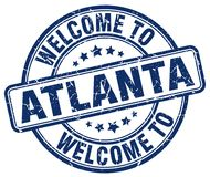 Welcome to Atlanta stamp. Welcome to Atlanta round grunge stamp isolated on white background. Atlanta. welcome to Atlanta