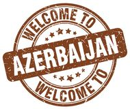 Welcome to Azerbaijan stamp. Welcome to Azerbaijan round grunge stamp isolated on white background. Azerbaijan. welcome to Azerbaijan