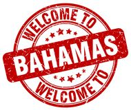 Welcome to Bahamas stamp. Welcome to Bahamas round grunge stamp isolated on white background. Bahamas. welcome to Bahamas