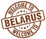 Welcome to Belarus stamp. Welcome to Belarus round grunge stamp isolated on white background. Belarus. welcome to Belarus