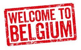 Welcome to Belgium Royalty Free Stock Photos
