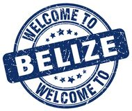 Welcome to Belize stamp. Welcome to Belize round grunge stamp isolated on white background. Belize. welcome to Belize