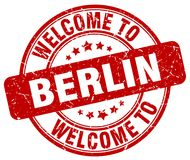 Welcome to Berlin stamp. Welcome to Berlin round grunge stamp isolated on white background. Berlin. welcome to Berlin